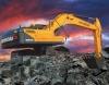 现代R305L VS挖掘机