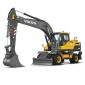 沃尔沃EW205D高效挖掘机