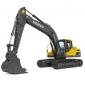 沃尔沃EC210DL履带式挖掘机