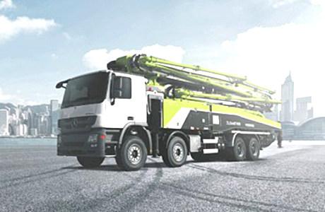 金牌产品面面观丨中联重科高精高效56米泵车缘何持续火爆?
