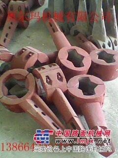 供应德基4000型沥青搅拌机配件 叶片  搅拌臂  衬板
