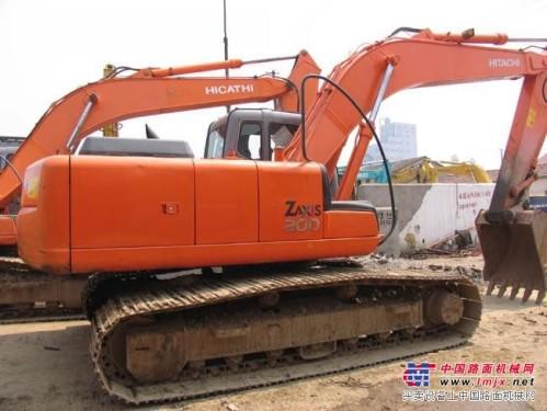 低价转让原装日立ZX200挖掘机17万