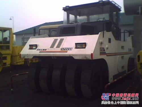 供应二手徐工16-24吨轮胎压路机双振动压路机