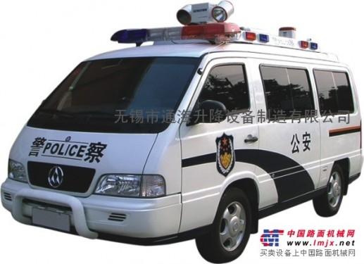 车载应急照明升降杆,车顶应急照明升降,车载应急照明监控升降