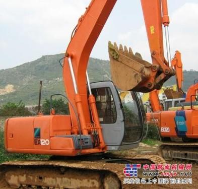 供应原装日立EX120挖掘机32万八成新进口手续齐全