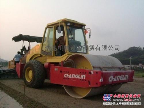 出租常林20吨单钢轮压路机
