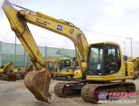 广西二手挖掘机市场-小松120挖机价格-山河50钩机