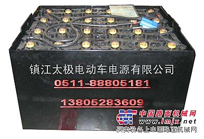 力至优叉车电池生产厂家镇江太极电源替代GS叉车电池