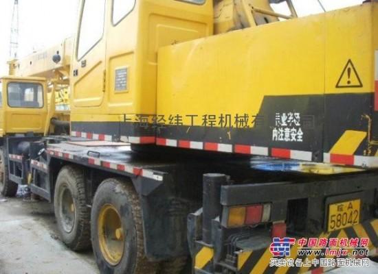 新疆二手5-50噸徐工汽車吊@吐魯番二手挖掘機【新報價】