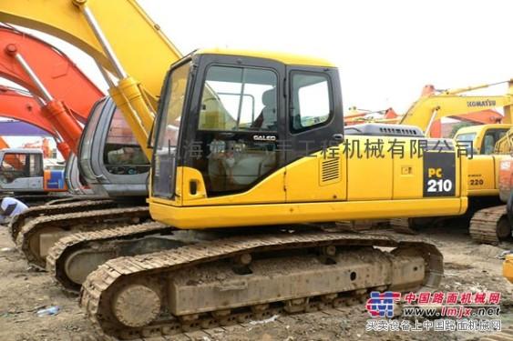 济南【代理】二手小松挖掘机,温州二手挖掘机新行情