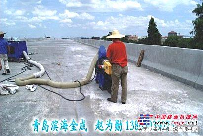 出租路面抛丸机,承包工程:公路、桥梁、高铁表面清理