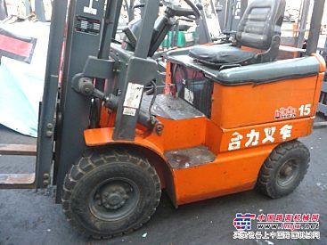 ∑转让二手1.5吨电动叉车≠≮1.5合力电瓶叉车≯