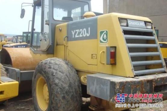 供应二手常林压路机/18/21吨静压压路机/二手铁三轮压路机