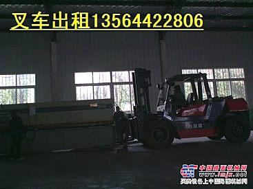 上海闸北区叉车出租/平板车出租/机器设备移位