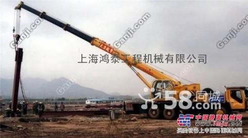 出租上海徐汇区汽车吊出租8吨-50吨汽车吊出租可包月