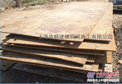长期出租建筑施工钢板、走道板