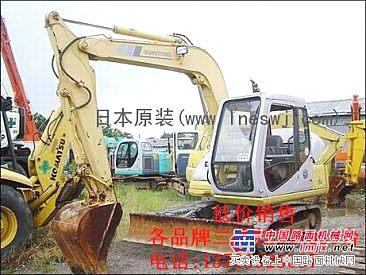 买二手挖掘机的好去处!日本原装进口二手挖掘机市场!