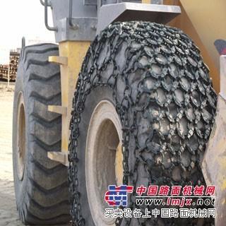沃尔沃挖掘机破碎锤-工程施工轮胎保护链