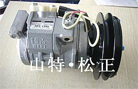 供应小松配件PC300-7风扇叶子,皮带,空调总成空调压缩机