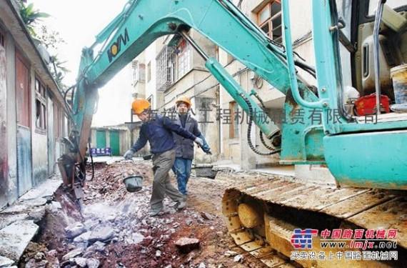 出租上海卢湾区镐头机出租混凝土破碎 房屋拆迁
