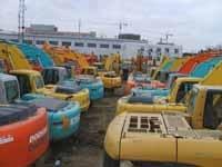 内蒙古二手山河小挖机市场二手小松120挖掘机价格