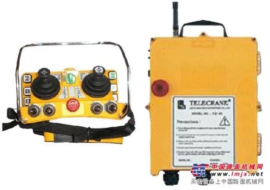 供应F24-60五速双摇杆工业用无线电遥控器