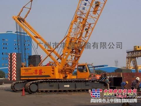 广州深圳珠海出租履带起重机
