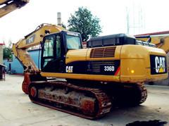黑龙江二手挖掘机卡特336D出售 手续齐全 质量保证13651719717