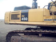 武汉二手挖掘机小松450-7出售 09年好机器 18939903217郭小姐
