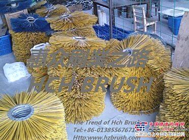 哈尔滨扫雪车毛刷,道路清扫车毛刷,环卫刷辊