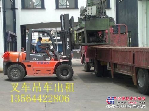 上海青浦叉车出租-货物搬运装卸-牵引车、16吨吊车出租