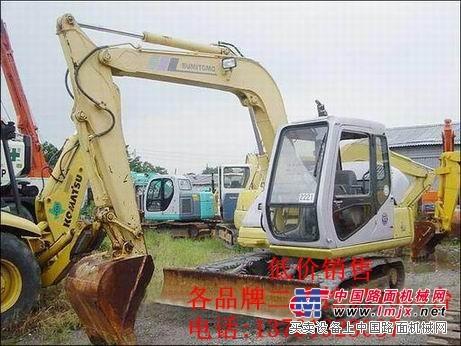 海南二手挖掘机专卖--二手住友挖掘机买卖市场