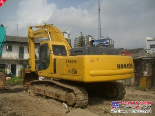 二手小松PC350挖掘机销售淮安二手挖掘机销售三包服务
