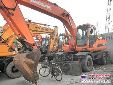供应斗山210-7轮式挖掘机