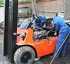 叉车维修-金山区专业维修各种进口国产叉车-吊车维修