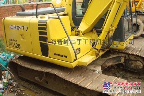 【奇峰℡】┠二手小松挖掘机市场,张家口二手小松120挖掘机┨