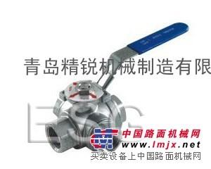 供应ESG牌不锈钢球阀  三通球阀   气控球阀