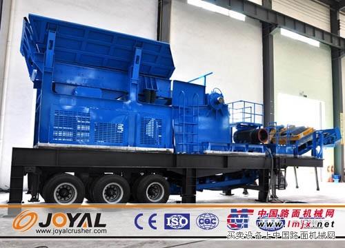 供应YG938E69移动鄂式破碎站-上海卓亚矿山机械有限公司