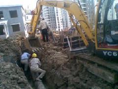 上海闸北区挖掘机出租水管改造开挖速度快效率高