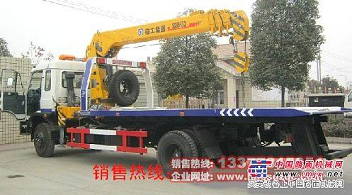 随车吊带清障车厂家直销5吨多功能随车吊