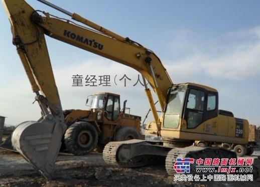 鄂州挖掘机小松挖掘机200挖掘机旧挖掘机中型挖掘机PC220