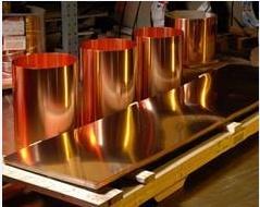 供应无氧铜板专业生产质量保证