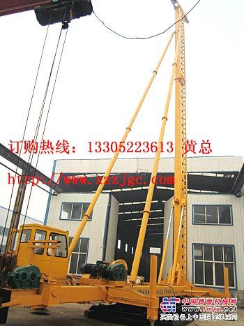 供应柴油锤打桩机徐州柴油锤打桩架价格新型步履式多用打桩机