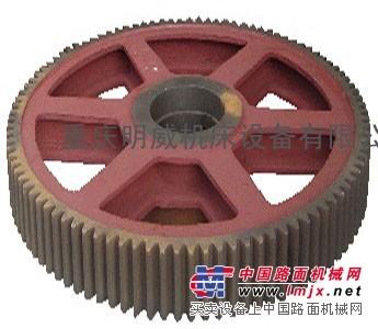 供应重庆机械剪板机配件大齿轮、连杆