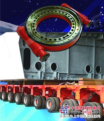 供应模块平板车用车轮转向器、转盘、回转装置