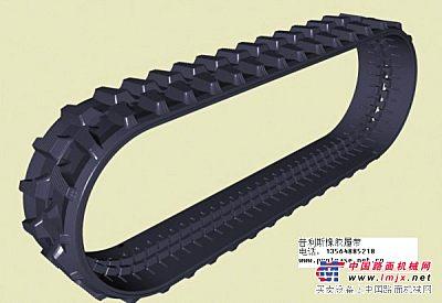 供应湖南一品重机钻机橡胶履带,橡胶块