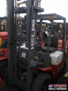 供应二手合力2吨叉车,合力2吨堆高机集装箱叉车升高4米5