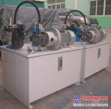 机床配套液压站生产公司,小流量液压泵站供应厂