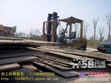 上海杨浦区钢板路基箱租赁路面加固-上海老城区地下废桩清除