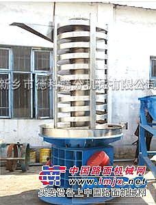 高温物料降温输送 风冷技术 德科新型螺旋提升机 生产厂家